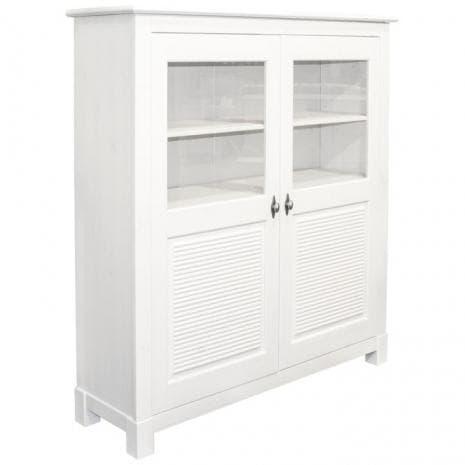 Шкаф для посуды Рауна 20 (Белый воск)