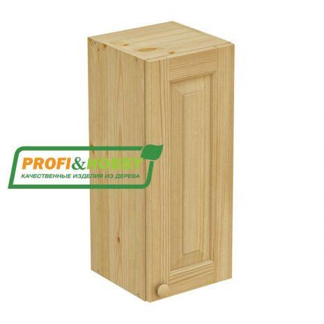 Шкаф настенный 1 дверь 30х72 филенка Profi&Hobby