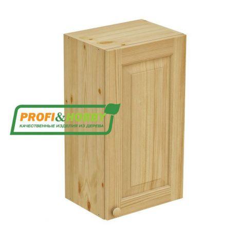 Шкаф настенный 1 дверь 40х72 филенка Profi&Hobby