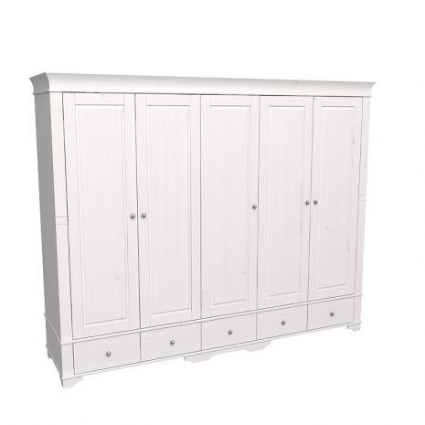 Шкаф 5 дверный с глухими дверями Бейли