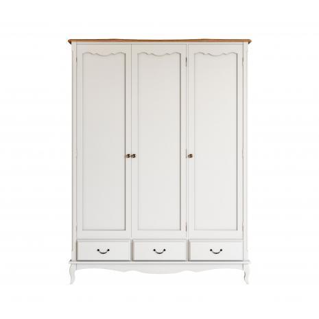 Шкаф для одежды Leontina трехстворчатый 3 ящика ST9327KR3