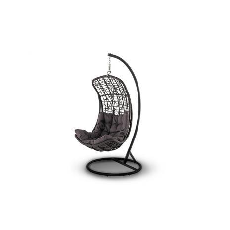 Подвесное кресло Виши коричневое