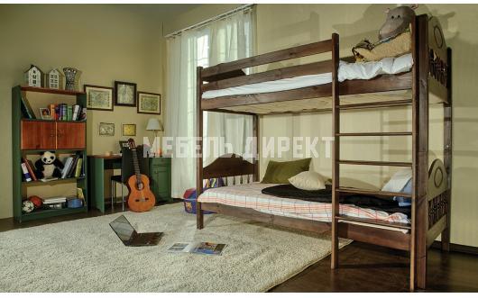 Детские 2-х ярусные кровати