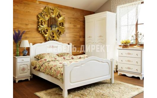 Спальни белого цвета