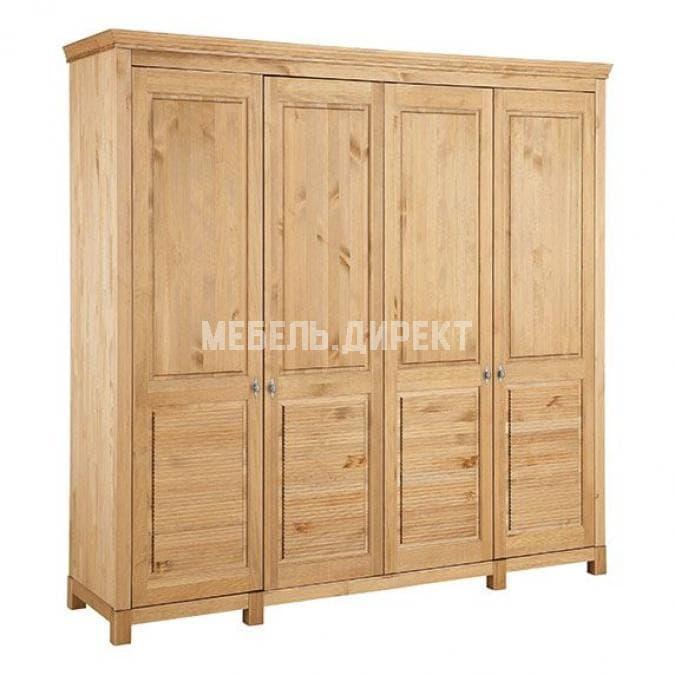 Шкаф для одежды Рауна 40 (бейц/масло)