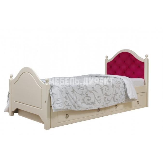 Кровать Кая 2 (мягкая) с ящиками 80