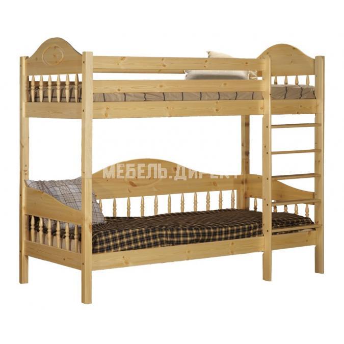 Кровать F3 Фрея 90 двухъярусная