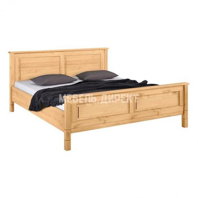 Кровать Рауна 180x200 (бейц/масло)