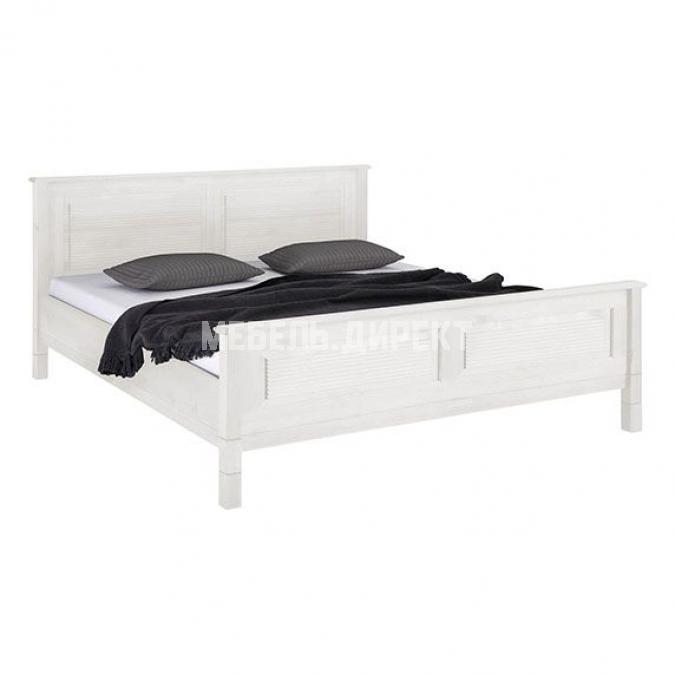 Кровать Рауна 180x200 (белый воск УКВ)