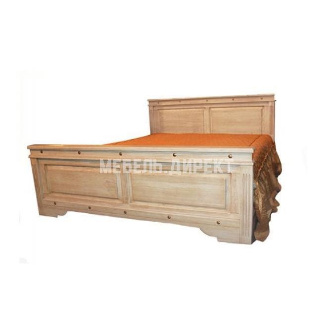 Кровать двуспальная Викинг 01 180 (Браширование)