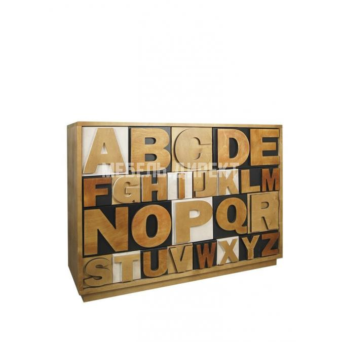 Комод Alphabeto Birch 10 ящиков