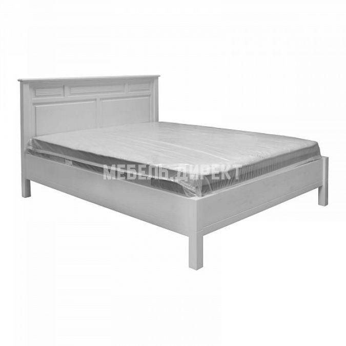Кровать Рауна БИ 180х200 белый воск