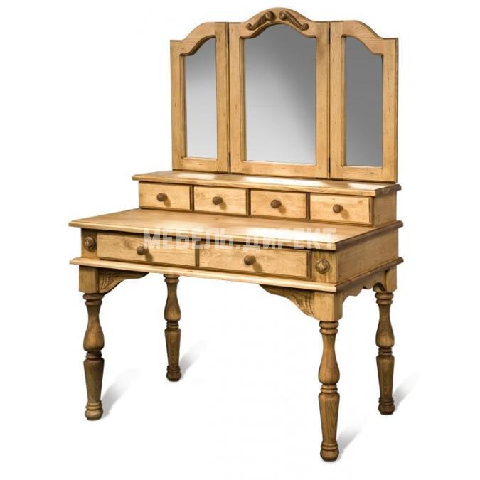 Стол туалетный с зеркалом Викинг-GL