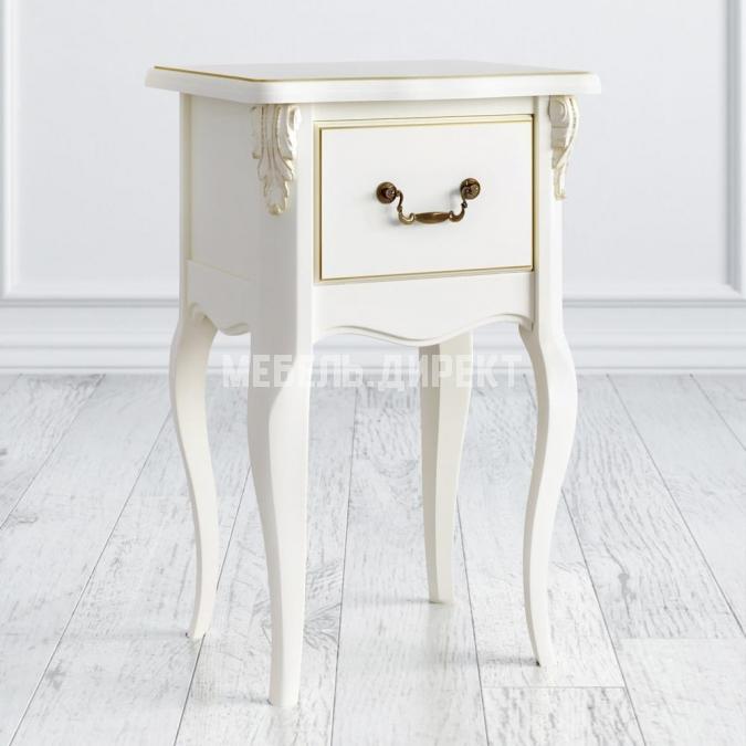 Прикроватная тумба 1 ящик Romantic Gold