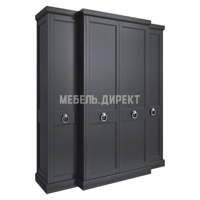 Шкаф 4 двери Estate Black