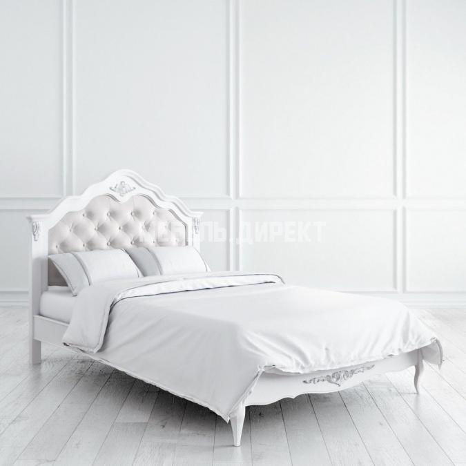 Кровать с мягким изголовьем 120х200 Silvery Rome