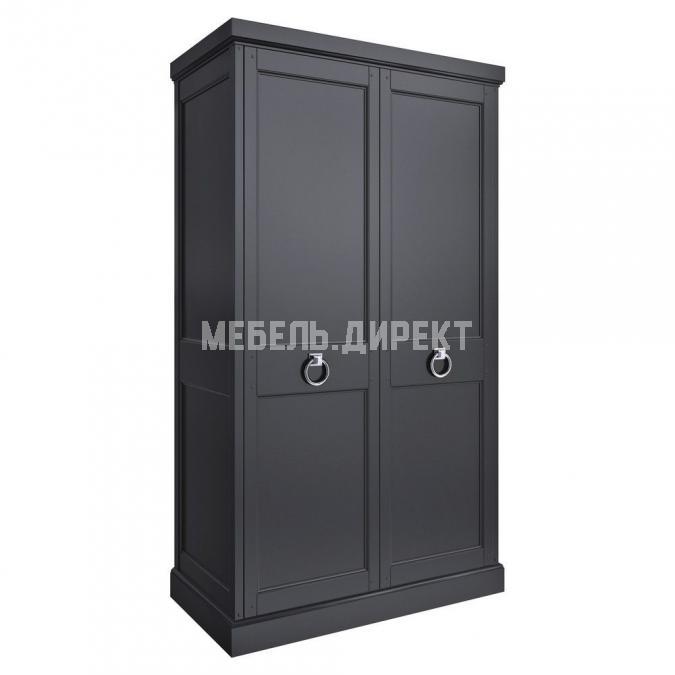Шкаф 2 двери Estate Black (высота 205)