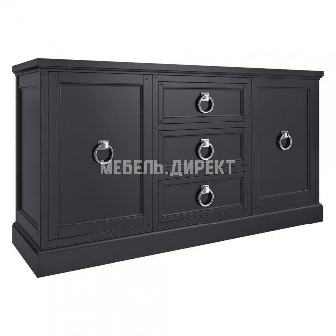 Комод Широкий Estate Black