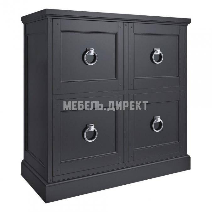 Комод 4 дверцы Estate Black