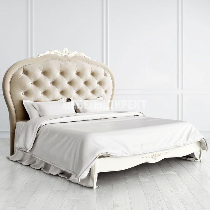 Кровать Romantic с мягким изголовьем 160*200 4я модель