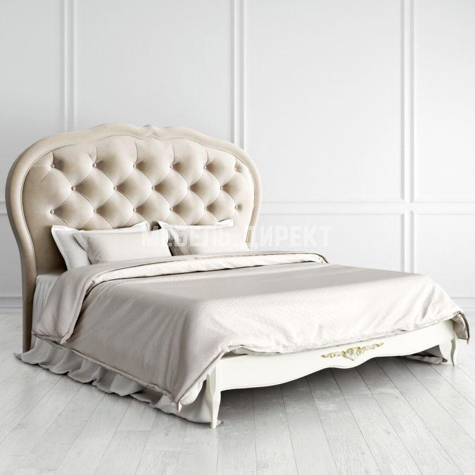 Кровать с мягким изголовьем 180х200 Romantic Gold