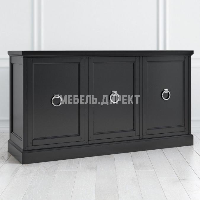 Комод широкий 3 двери Estate Black