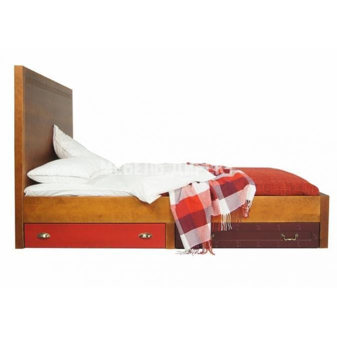 Кровать Gouache Birch 160*200 с ящиками