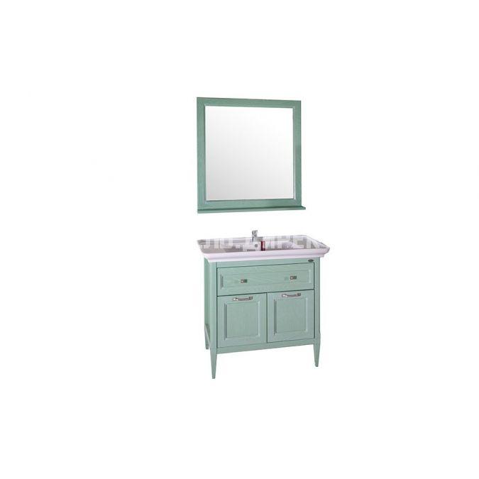 Комплект мебели для ванной Гранда 85 Verde без шкафчика