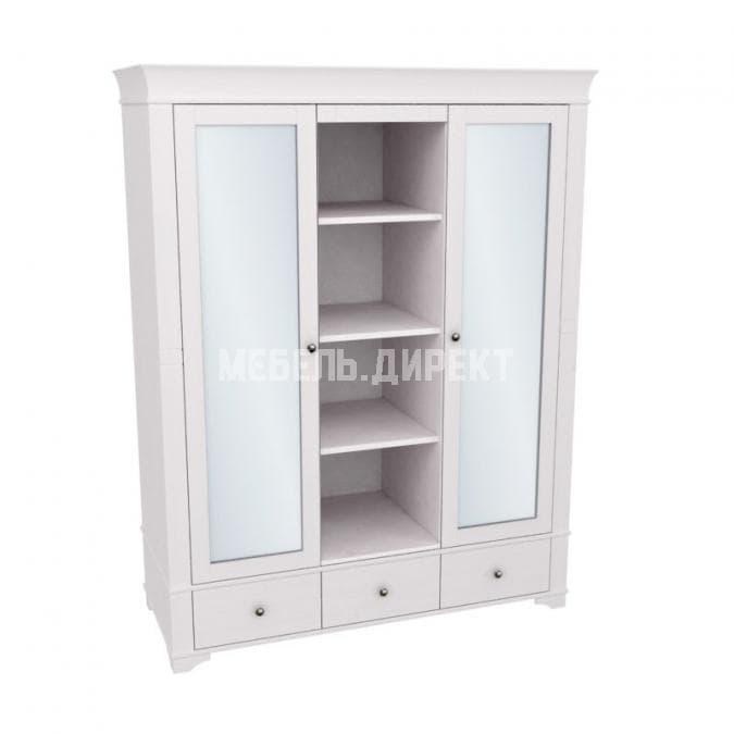 Шкаф с 2-мя зеркальными дверями и полками Бейли