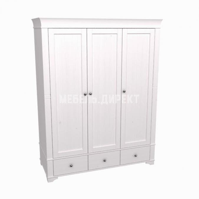 Шкаф 3х дверный с глухими дверями Бейли