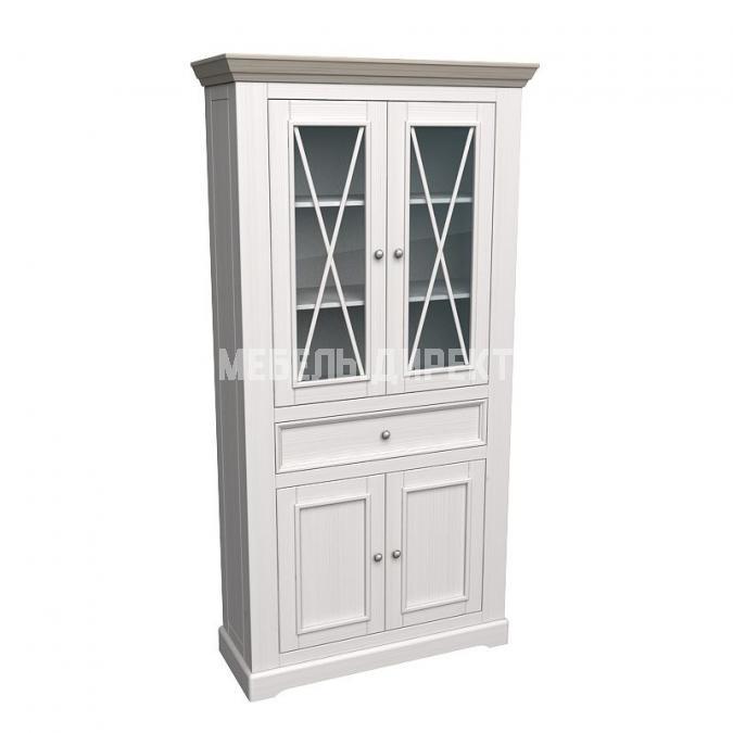 Шкаф для посуды Форест широкий 4 двери 1 ящик