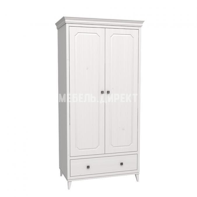Шкаф 2х дверный София белый лак