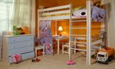 Кровать Классик верхнеярусная №2 80