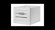 Ящик для шкафа (стеллажа) Бейли Белый воск