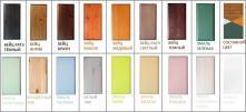 Кровать Инга 180 цветная эмаль/бейц